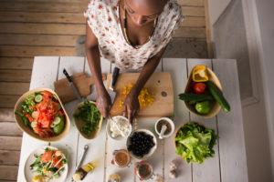 Les principes d'une alimentation vegan saine