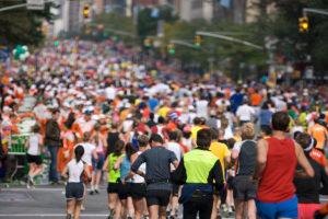 Courir le marathon, c'est tendance