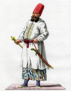 caftan dans l'empire Ottoman