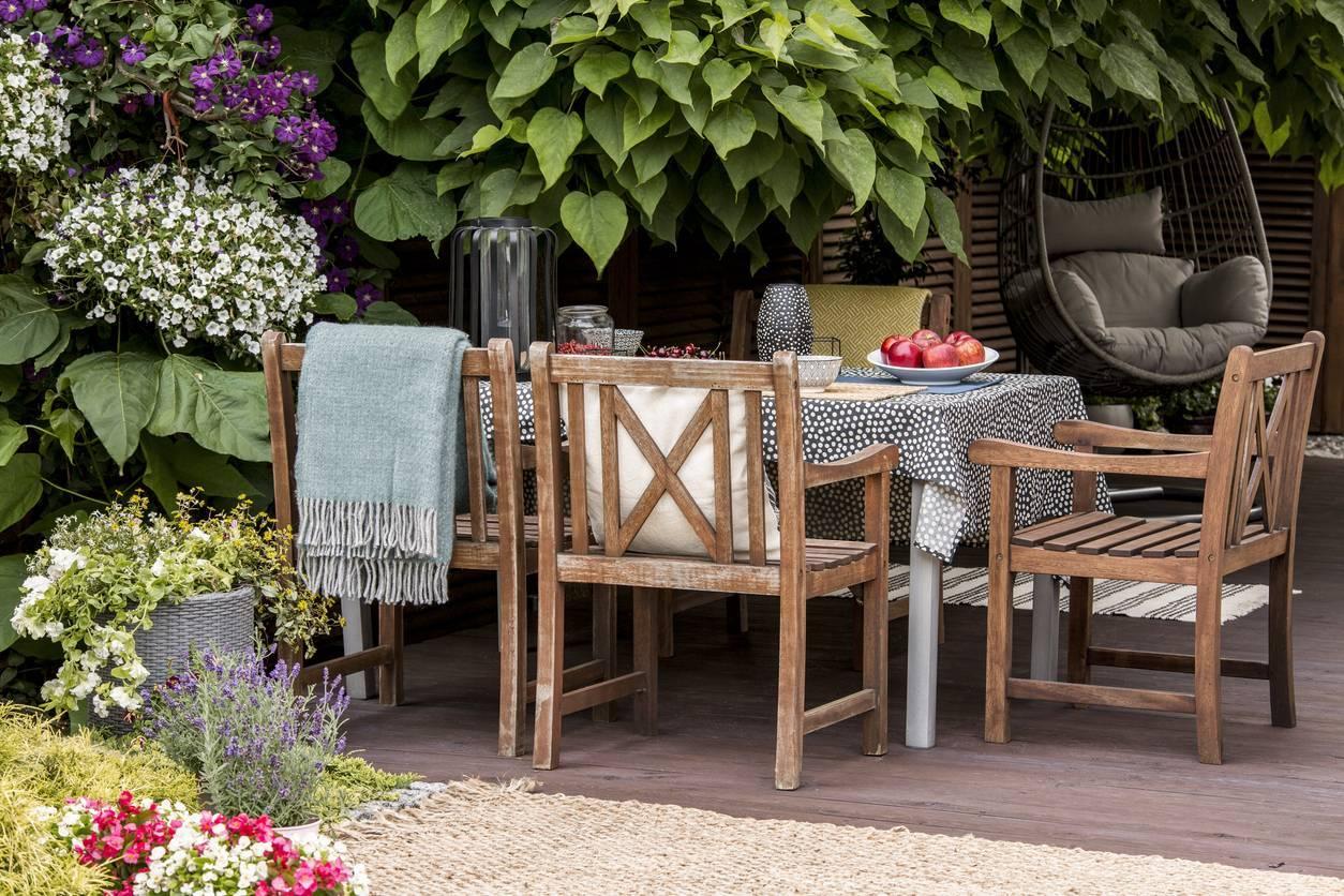 meuble jardin ; meubles de jardin ; meubler son jardin