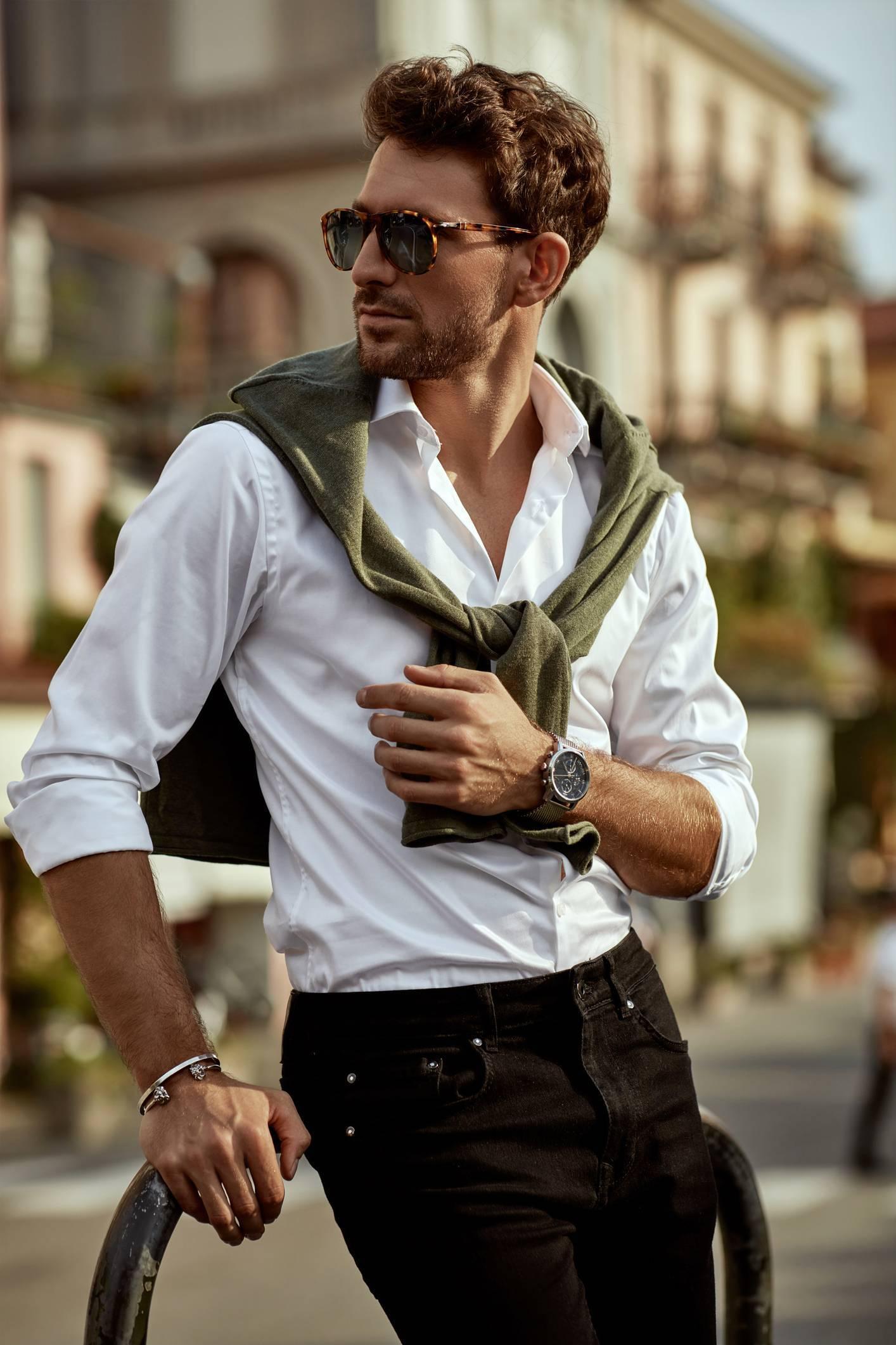 mode homme minimalisme
