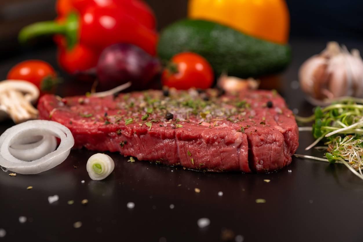 viande sur plancha