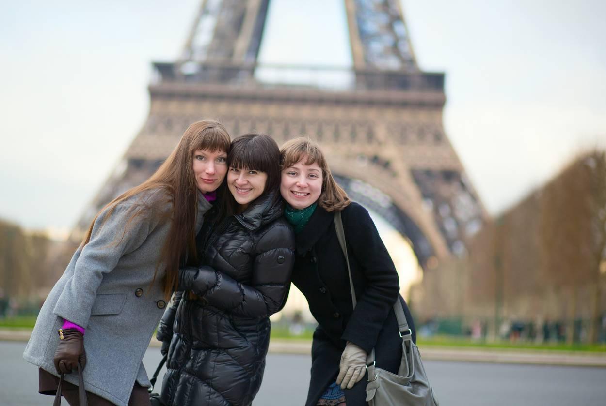 copines à Paris
