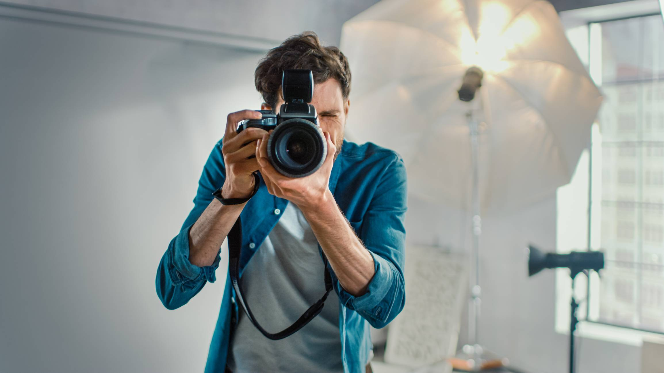 s'entraîner pour devenir photographe professionnel