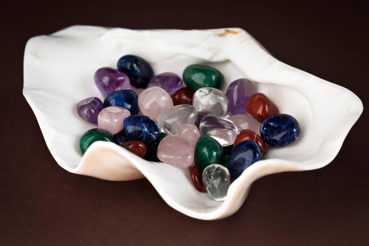 lithothérapie vertus des pierres naturelles.