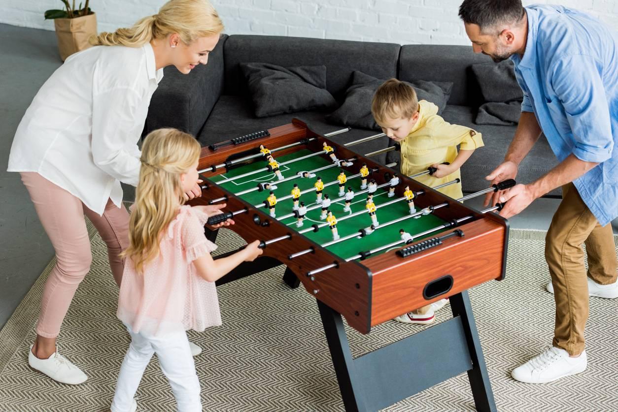 jeux loisir famille babyfoot