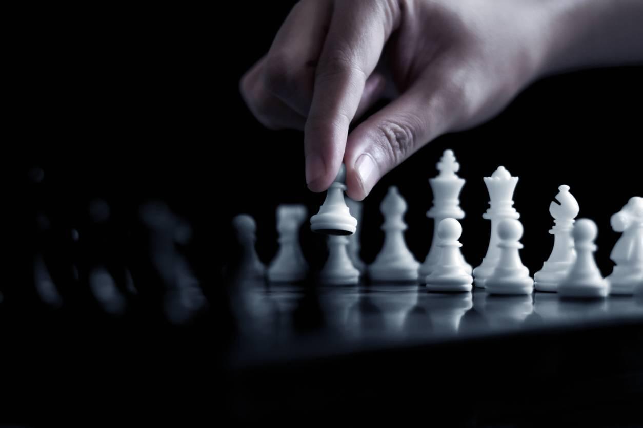jeu d'échecs tactique pratique